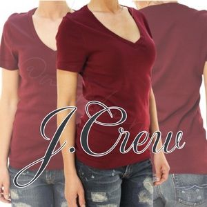 J.Crew Mercantile Women's Cotton V-Neck T-Shirt